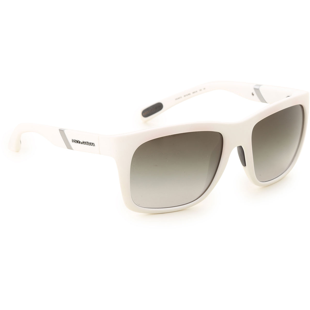 Image of Dolce & Gabbana Sunglasses On Sale, Matt White, 2017