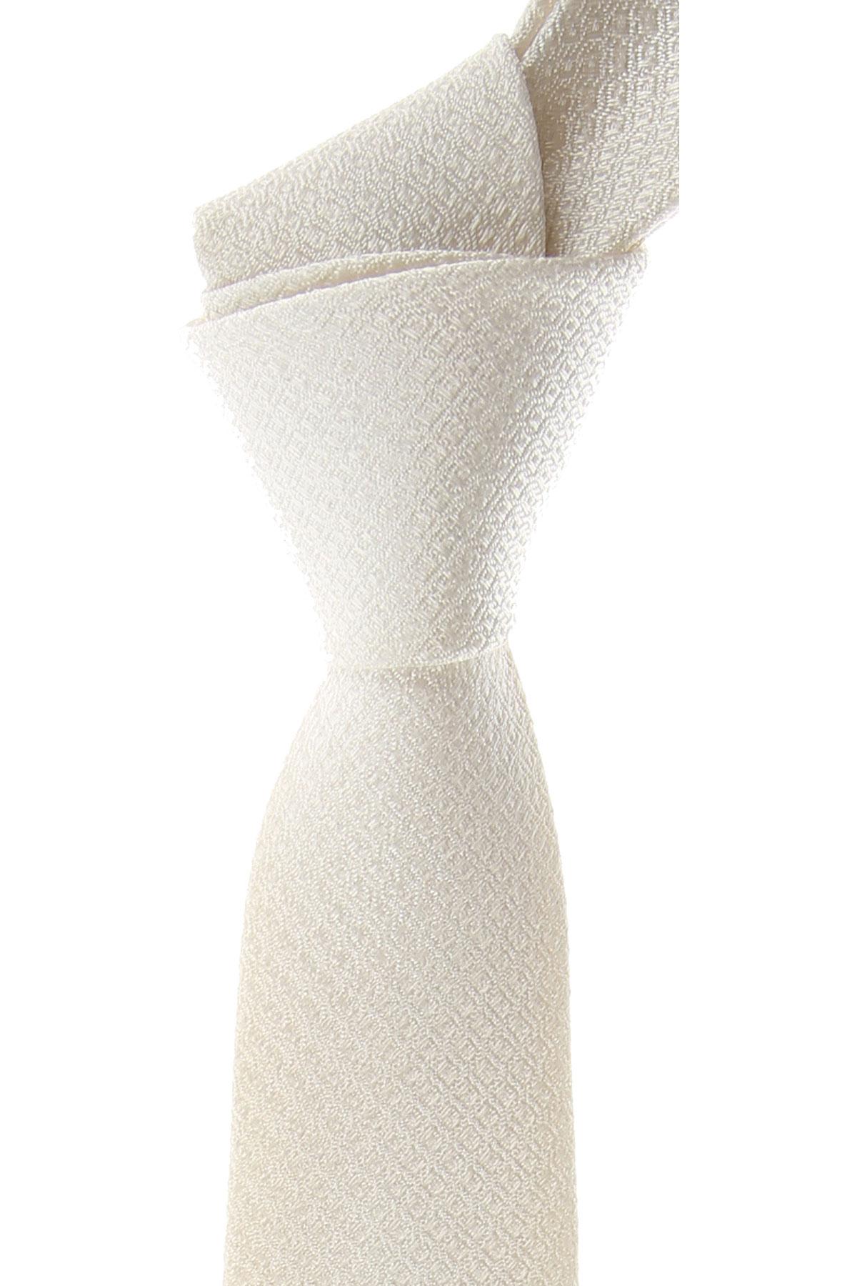 Dolce & Gabbana Cravates Pas cher en Soldes, Blanc, 2021