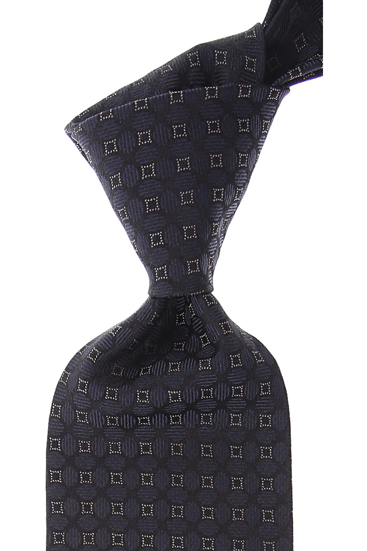 Dolce & Gabbana Cravates Pas cher en Soldes, Noir, Soie, 2019