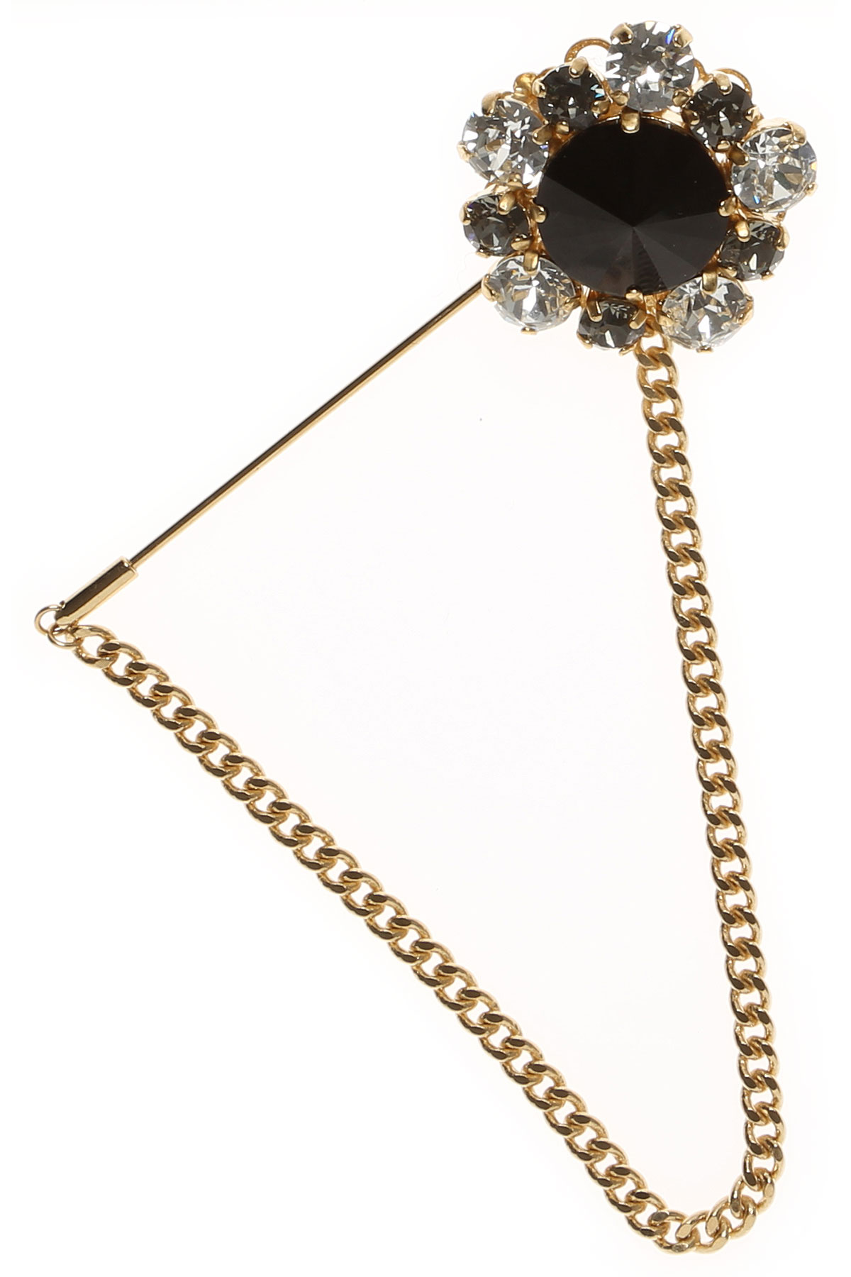 Image of Dolce & Gabbana Brooch and Pin for Women On Sale in Outlet, Gold, Brass, 2017