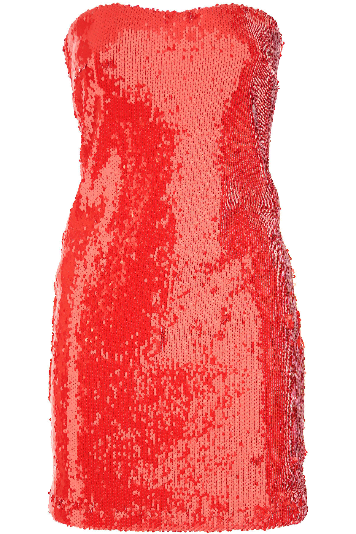 Dondup Dress for Women, Evening Cocktail Party On Sale, Red, polyestere, 2019, 2 4