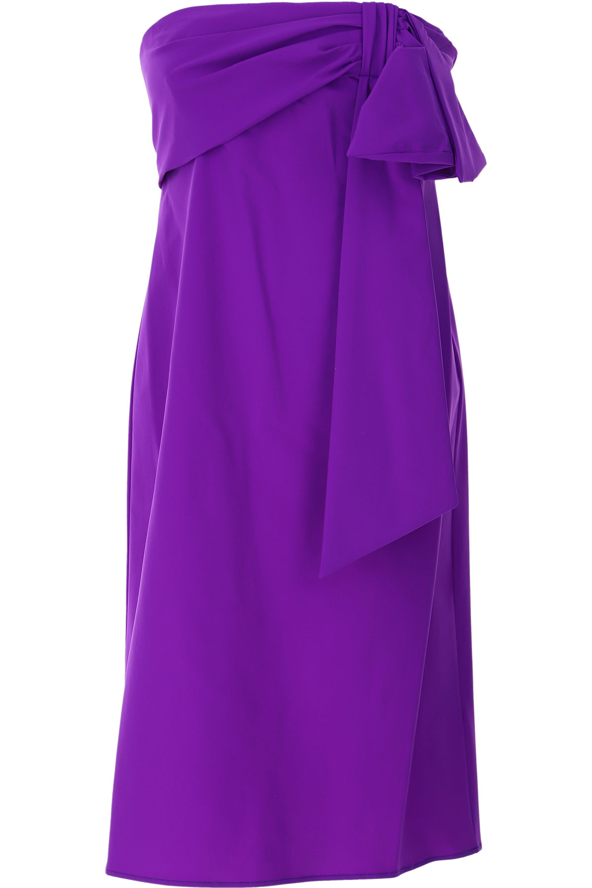 Dondup Dress for Women, Evening Cocktail Party On Sale, Violet, polyamide, 2019, 4 6