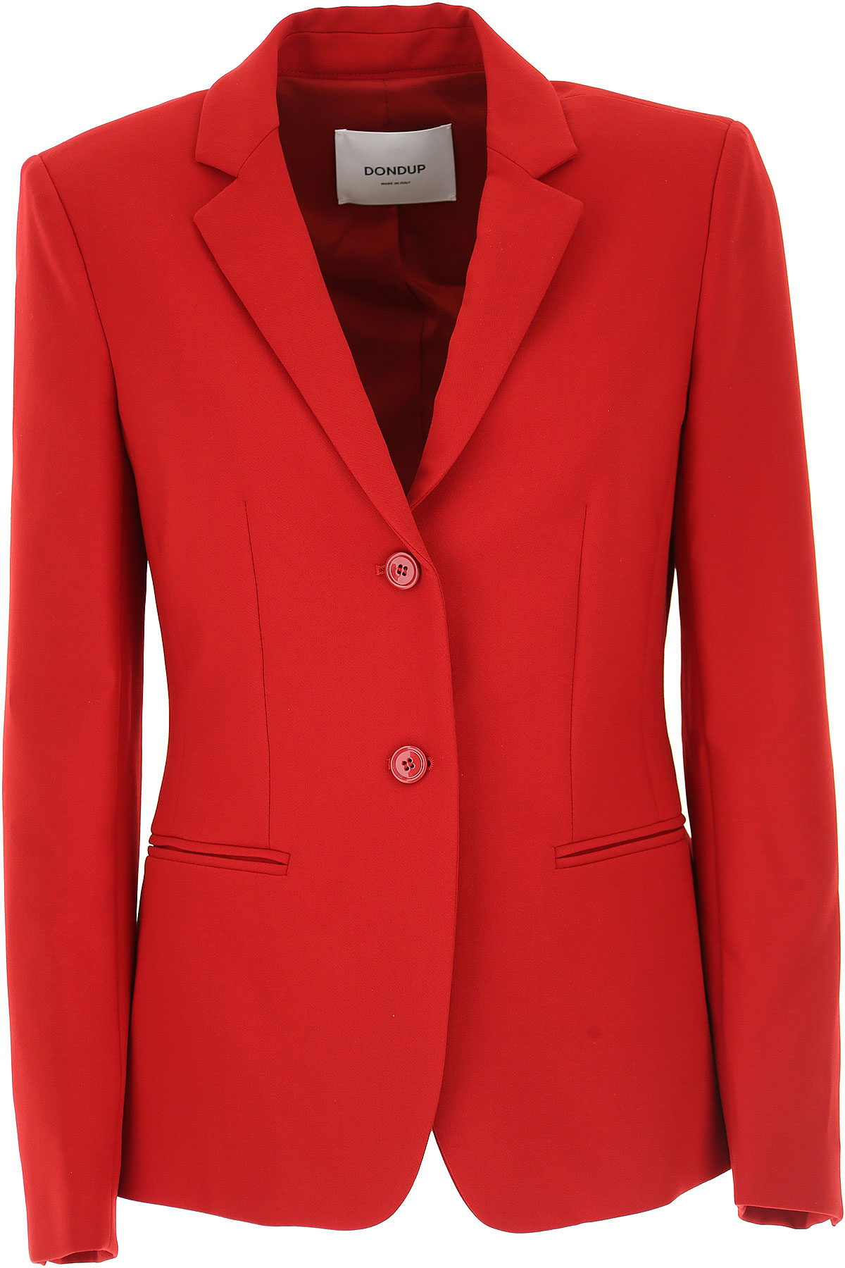 Image of Dondup Blazer for Women, Red, polyester, 2017, 6 8