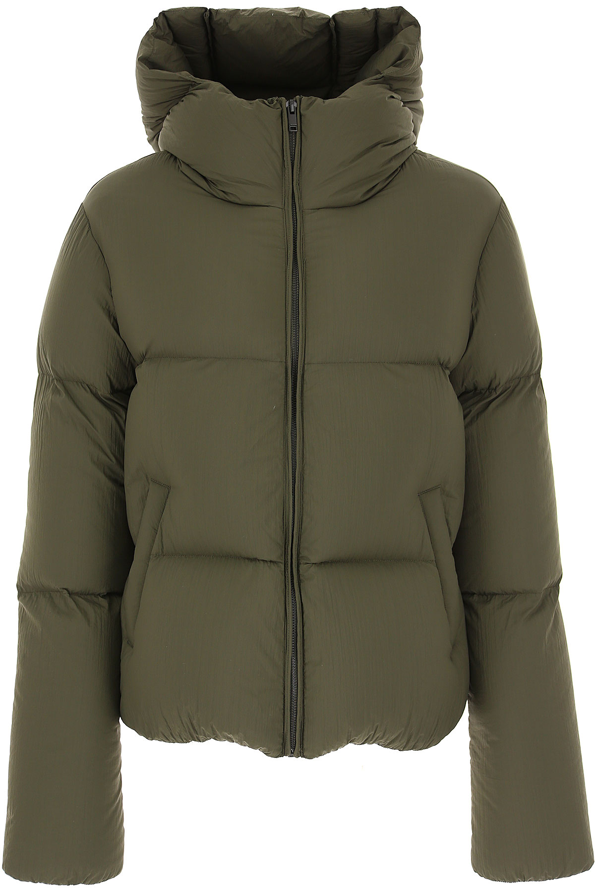 Dondup Down Jacket for Women, Puffer Ski Jacket On Sale in Outlet, Military, polyamide, 2019, 2 6 8