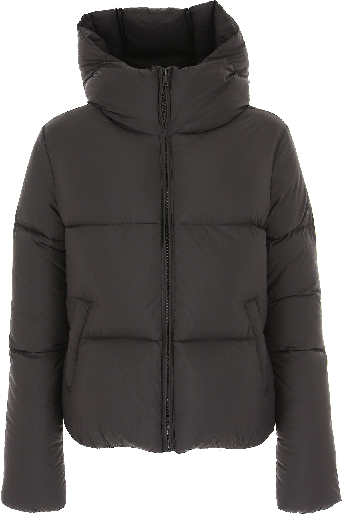 Dondup Down Jacket for Women, Puffer Ski Jacket On Sale, Black, polyester, 2019, 2 6