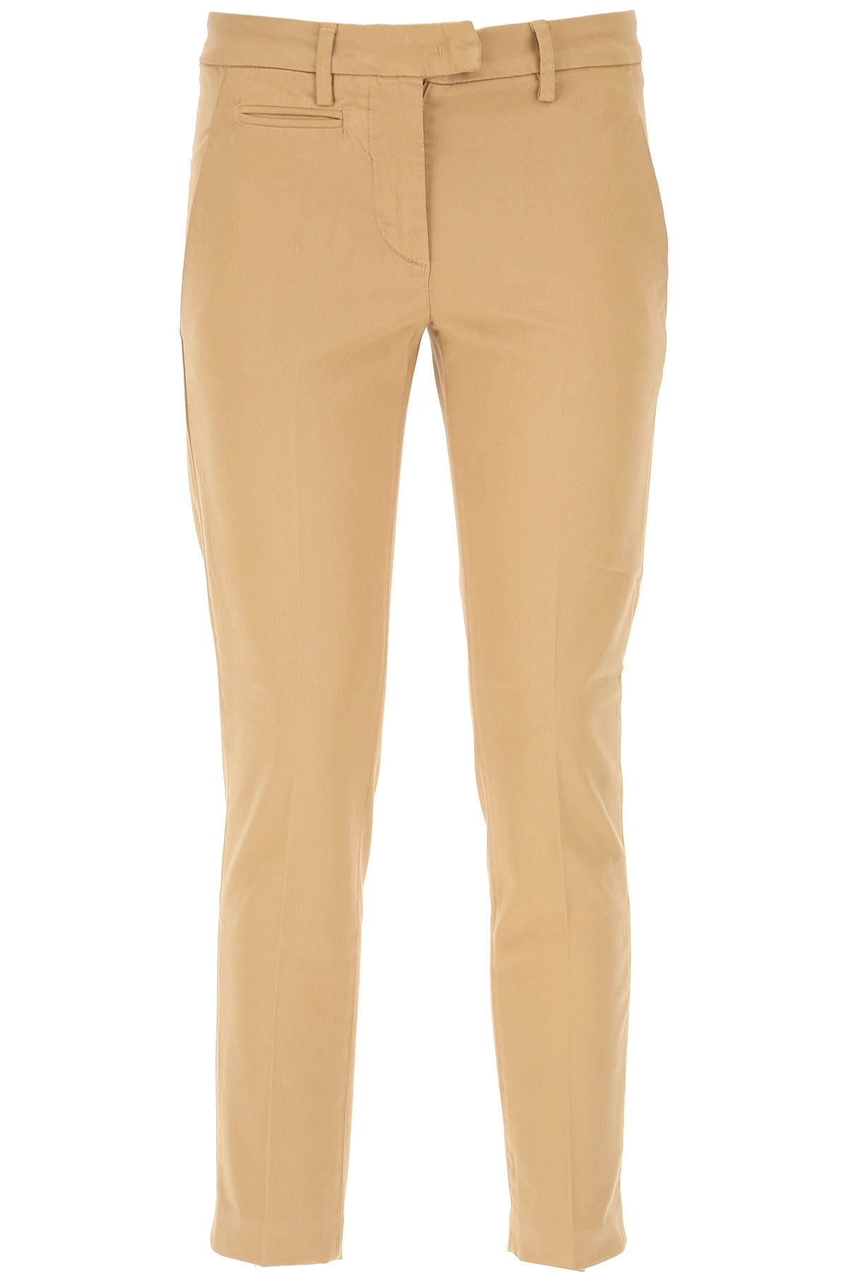 Dondup Pants for Women On Sale, Camel, Cotton, 2017, 26 28 30 32