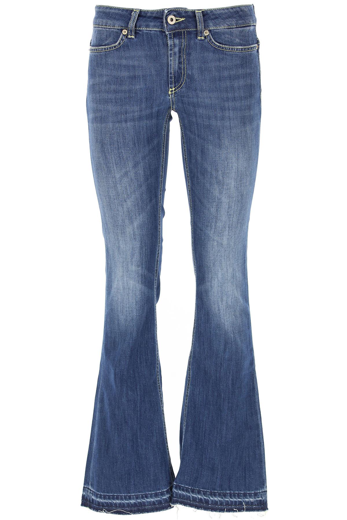 Dondup Jeans, Denim Blue, Cotton, 2017, 25 26 27 28 29 30 31