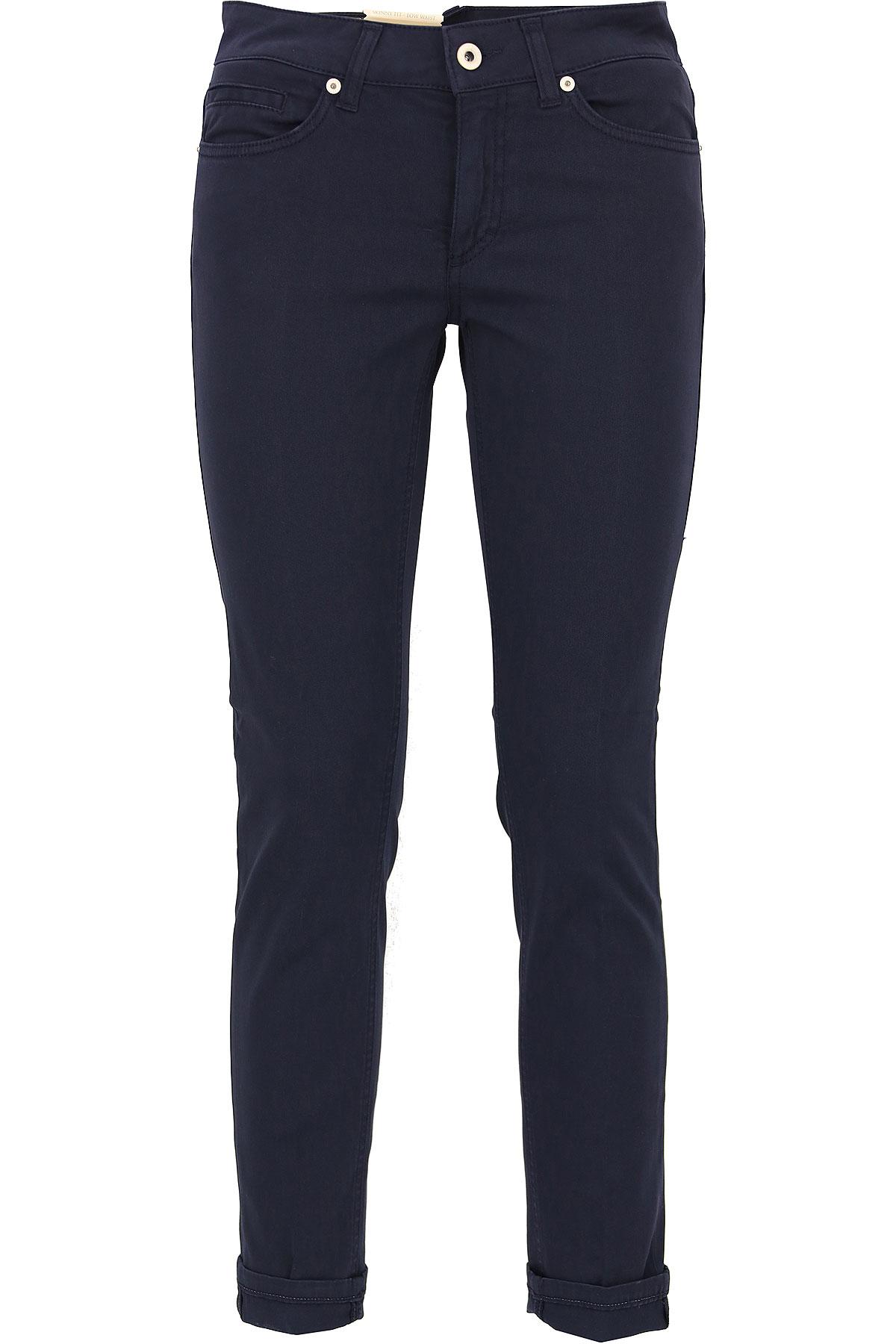 Dondup Jeans On Sale, Dark Blue, Cotton, 2017, 25 26