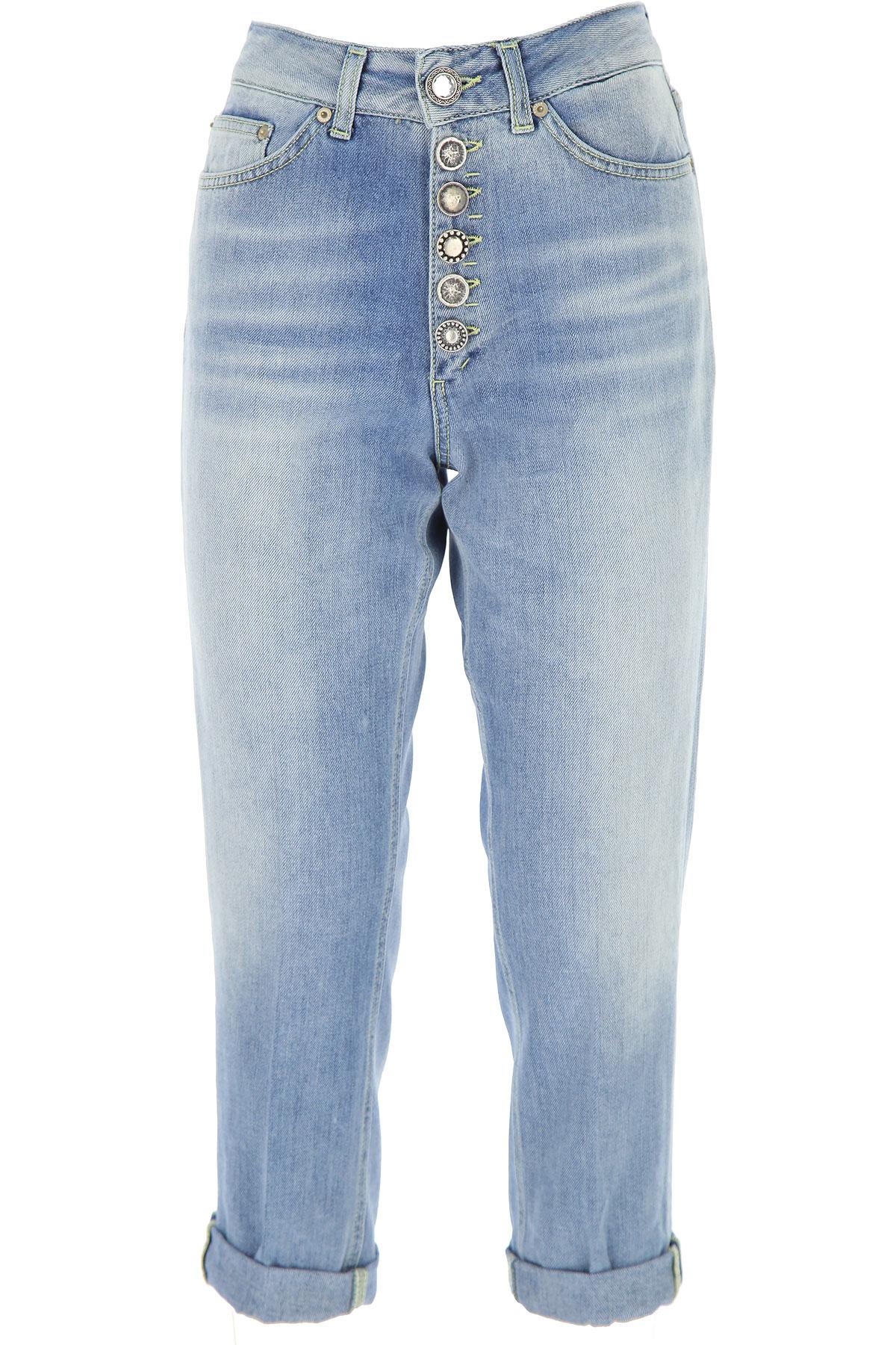 Dondup Jeans, Light Blue, Cotton, 2017, 26 27 28 29 30