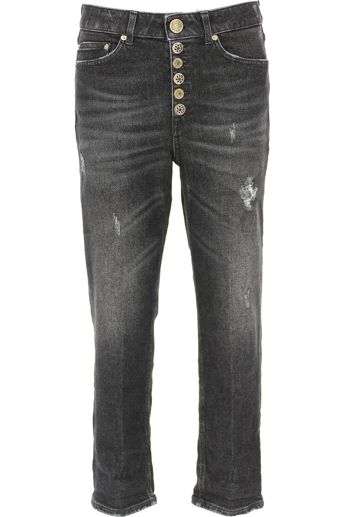 Dondup Jeans, Black, Cotton, 2019, 24 26