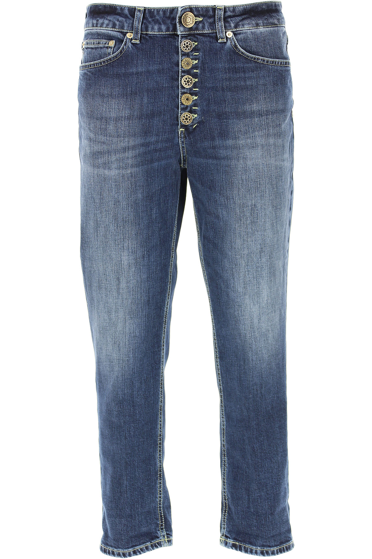 Dondup Jeans, Denim Blue, Cotton, 2019, 27 28