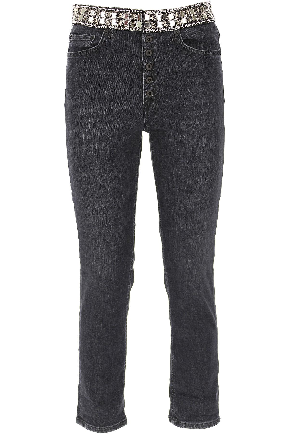 Dondup Jeans, Black, Cotton, 2019, 25 26