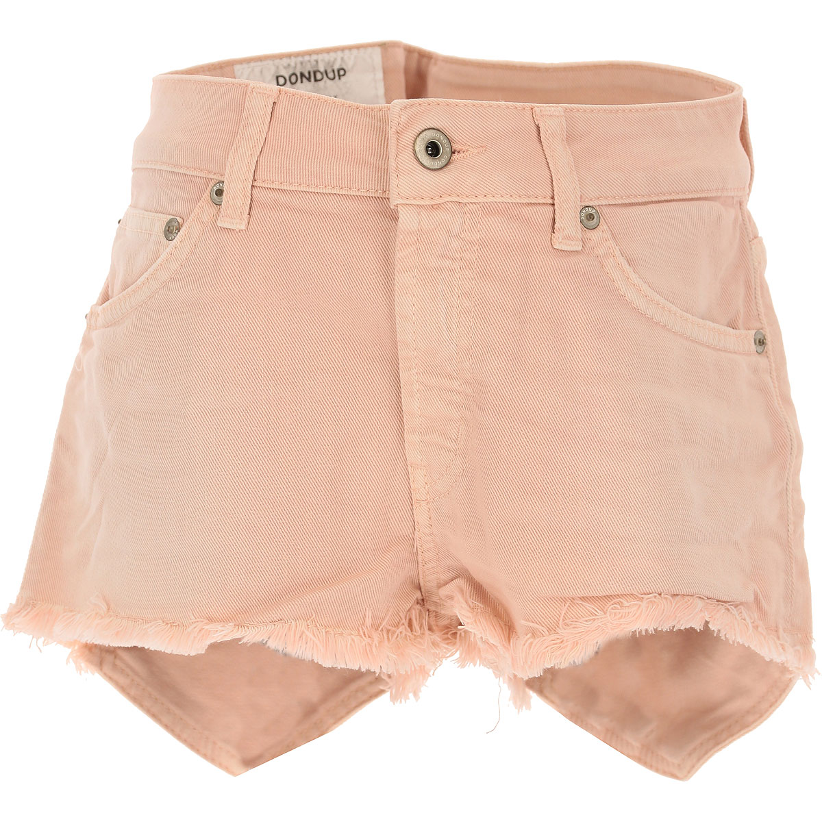 Image of Dondup Shorts for Women On Sale, Pale Pink, Cotton, 2017, 27 28 30 31