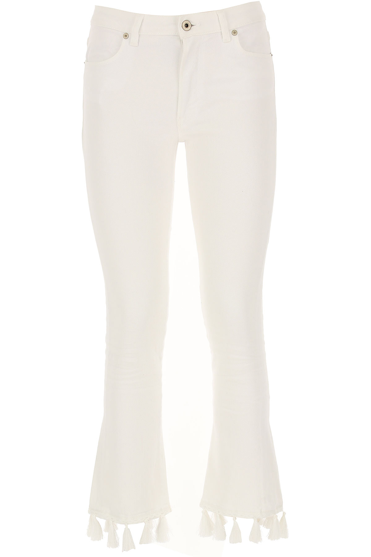 Dondup Jeans, White, Cotton, 2017, 25 26 27 28 29 30 32