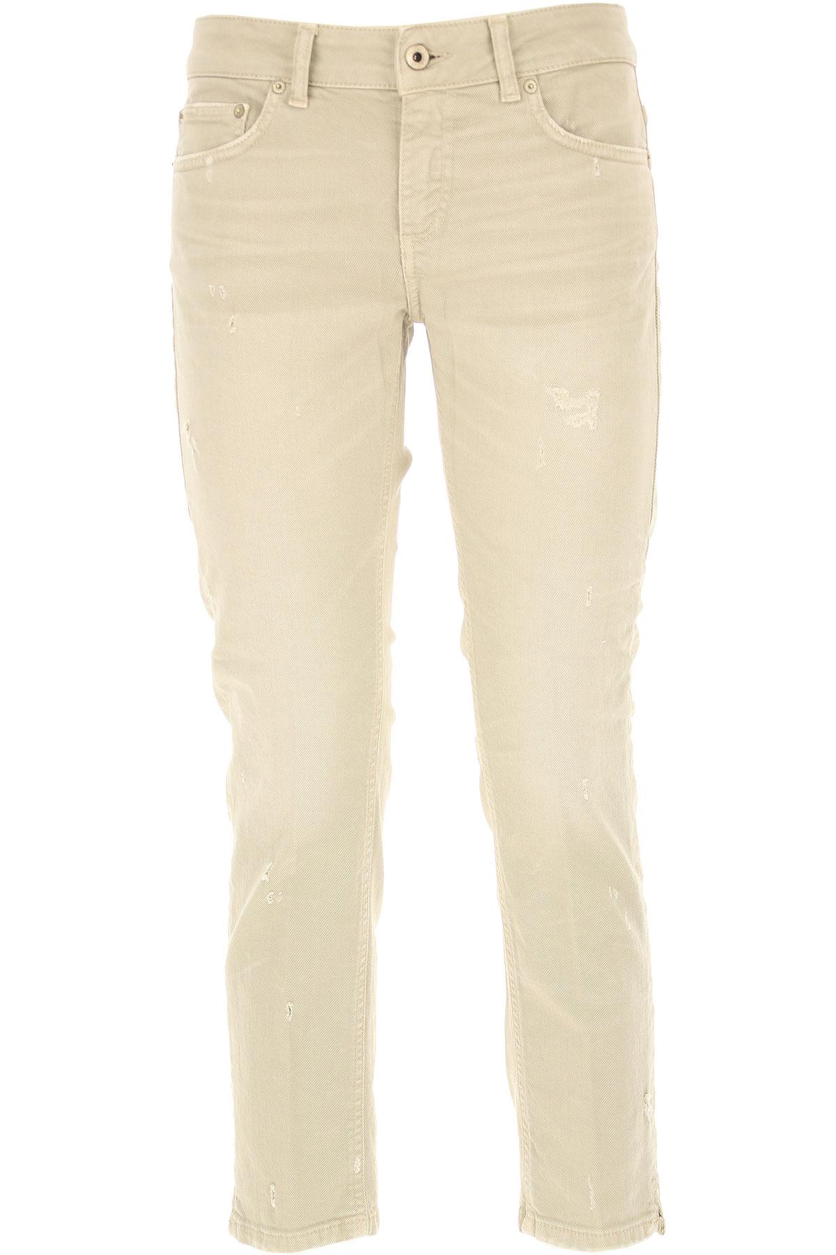 Dondup Jeans, Beige, Cotton, 2017, 26 27 28 29 30