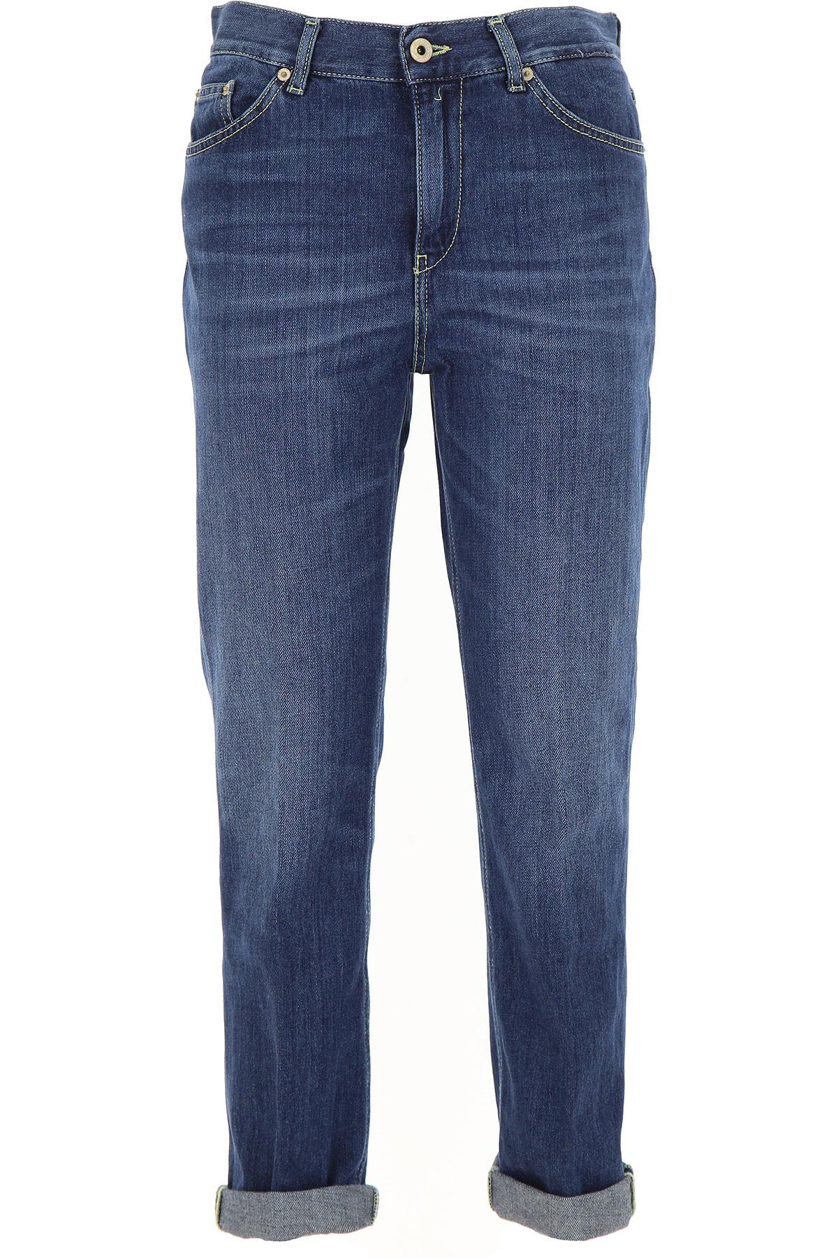 Dondup Jeans, Denim, Cotton, 2017, 27 28 29 30 31