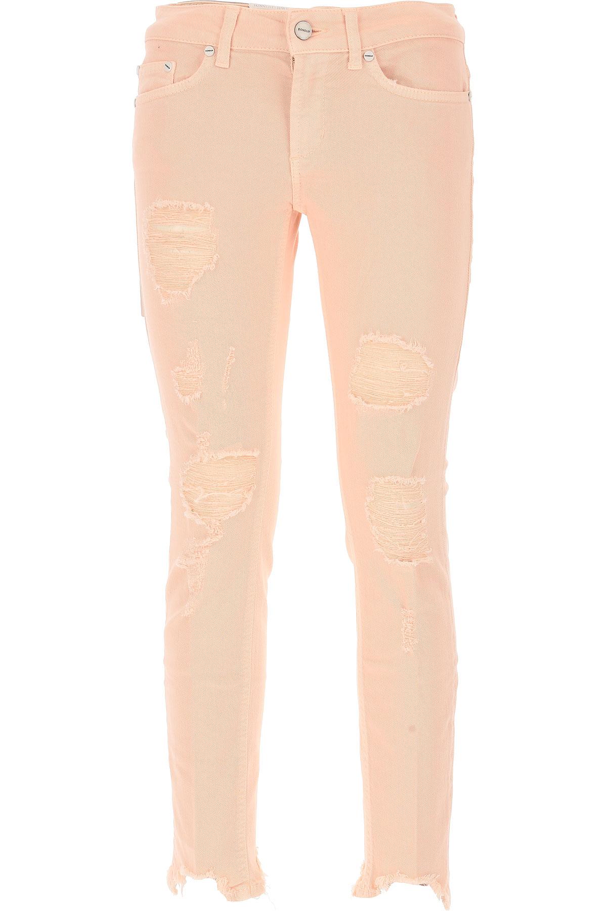 Dondup Jeans On Sale, Salmon Pink, Cotton, 2017, 26 27 28 29