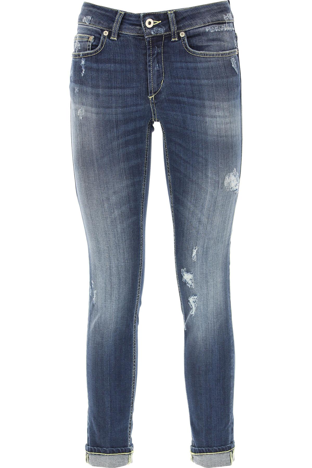 Dondup Jeans On Sale, Blue Denim, Cotton, 2017, 25 26 27 28 29 31