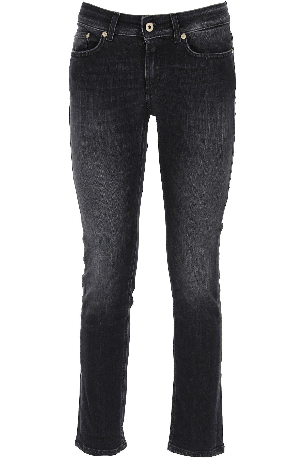 Dondup Jeans, Black, Cotton, 2017, 25 26 27 28 29 30