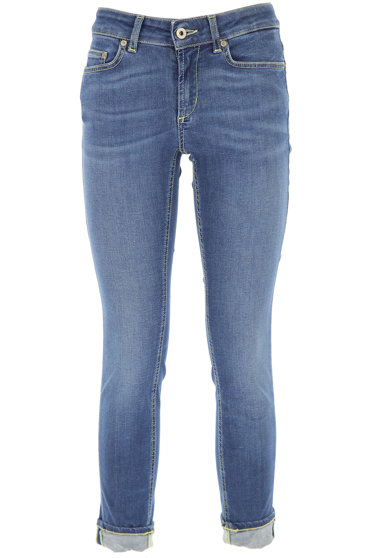Dondup Jeans, Blue, Cotton, 2017, 26 28 30