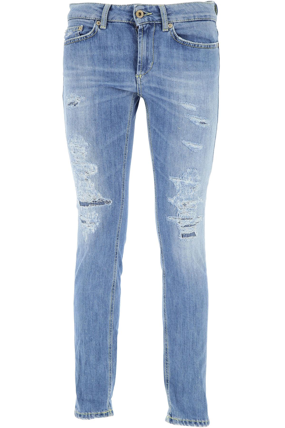 Dondup Jeans On Sale, Light Denim Blue, Cotton, 2017, 26 29