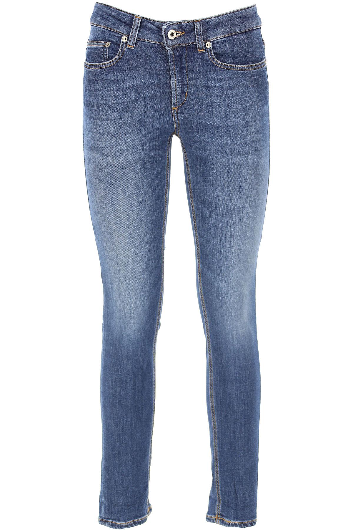 Dondup Jeans, Blue Denim, Cotton, 2019, 27 28 29 30 31 32