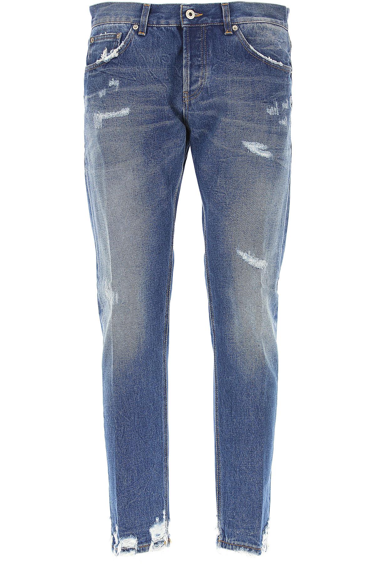 Dondup Jeans On Sale, Denim Blue, Cotton, 2017, 30 32 33 34 35 36 38