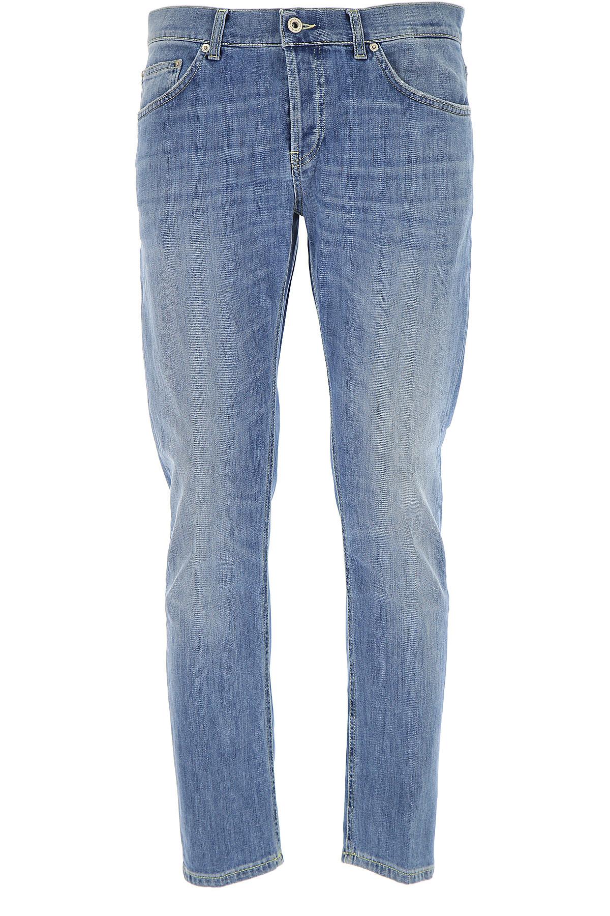 Dondup Jeans, Denim Blue, Cotton, 2017, 31 32 33 34 35 36 38