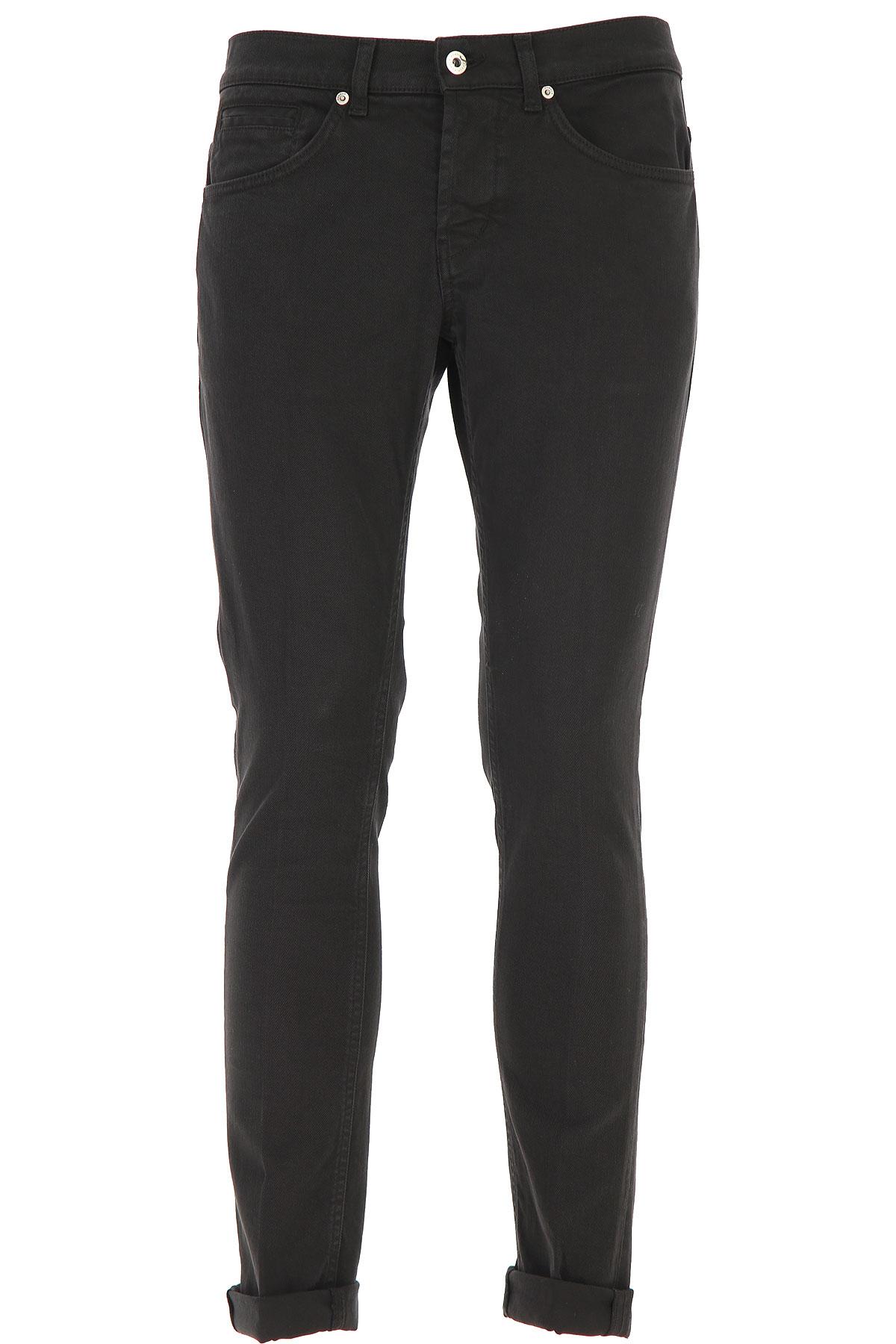 Dondup Jeans, Black, Cotton, 2019, 35 38