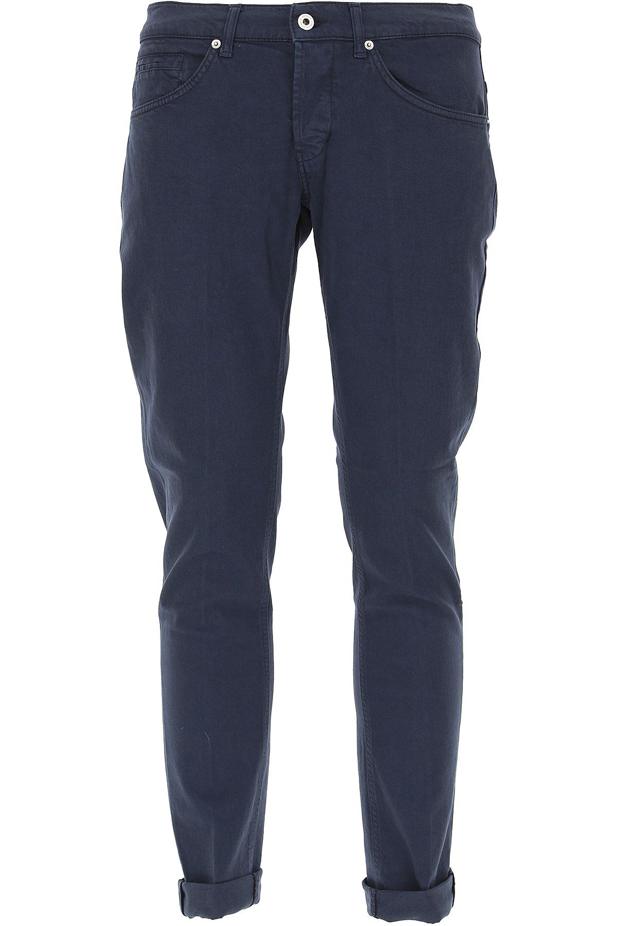 Dondup Jeans, Dark Blue, Cotton, 2017, 29 30 31 32 33 34 35 36 38