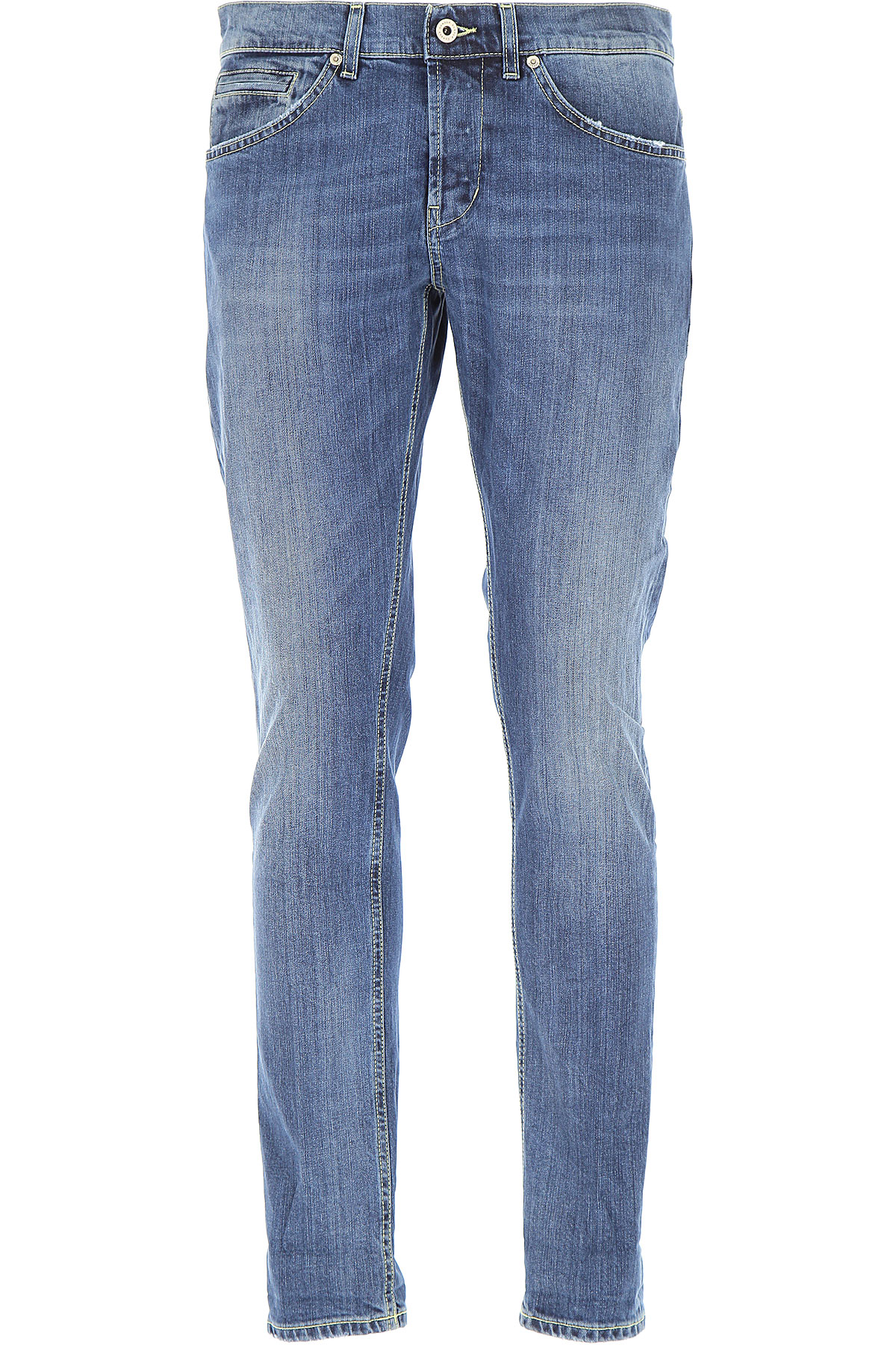 Dondup Jeans, Denim Blue, Cotton, 2017, 30 31 32 33 34 35 36 38