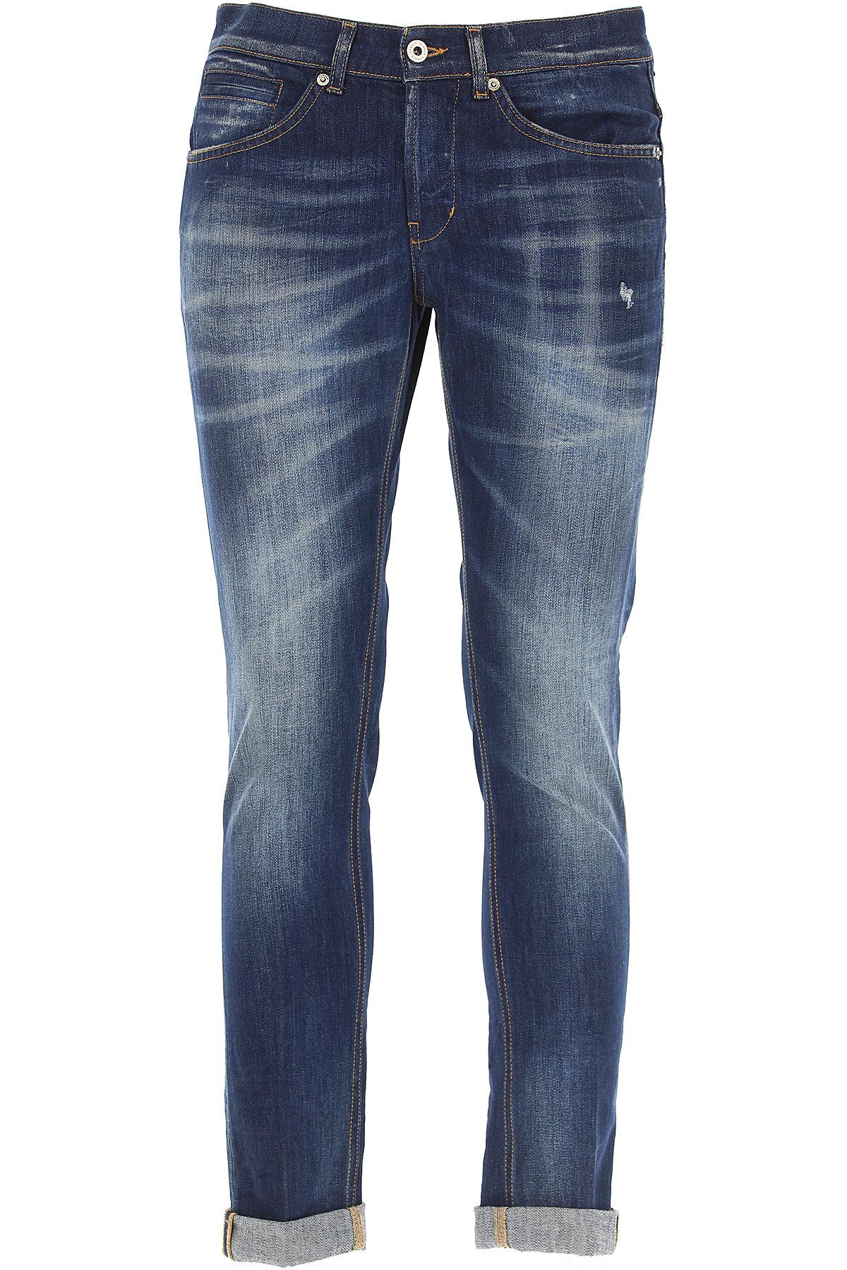 Dondup Jeans On Sale, Denim Blue, Cotton, 2017, 32 38