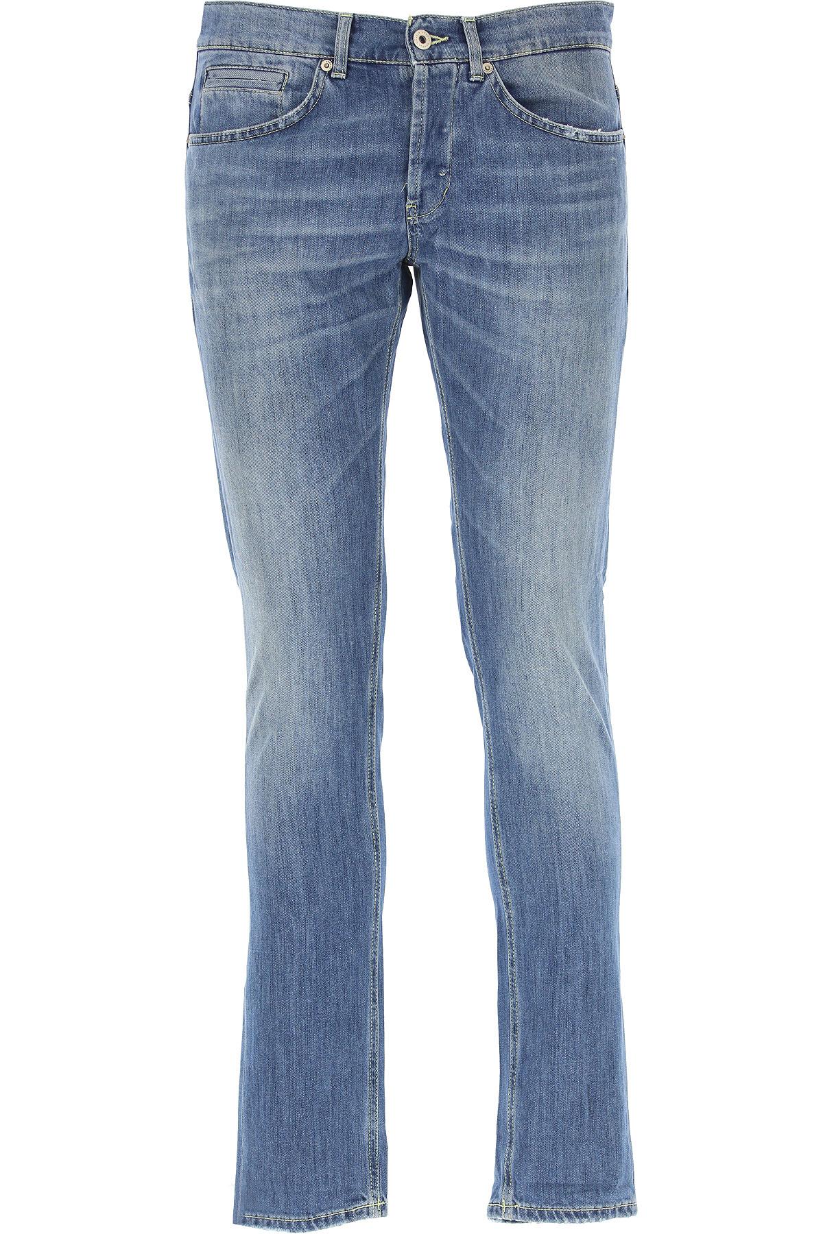 Dondup Jeans On Sale, Denim Blue, Cotton, 2017, 30 31 32 33 34 35 36 38