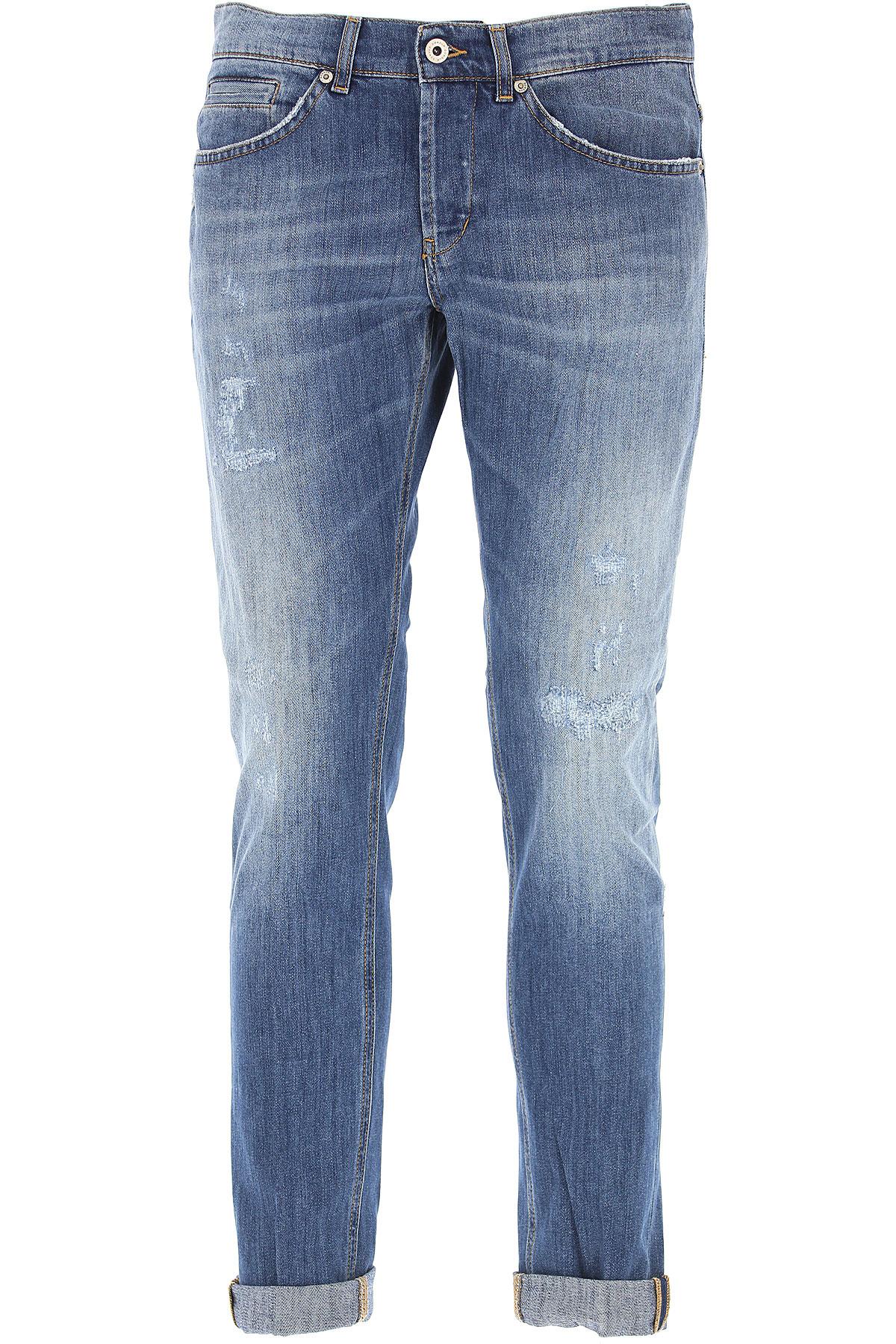 Dondup Jeans On Sale, Denim Blue, Cotton, 2017, 29 30 31 32 33 35 36 38