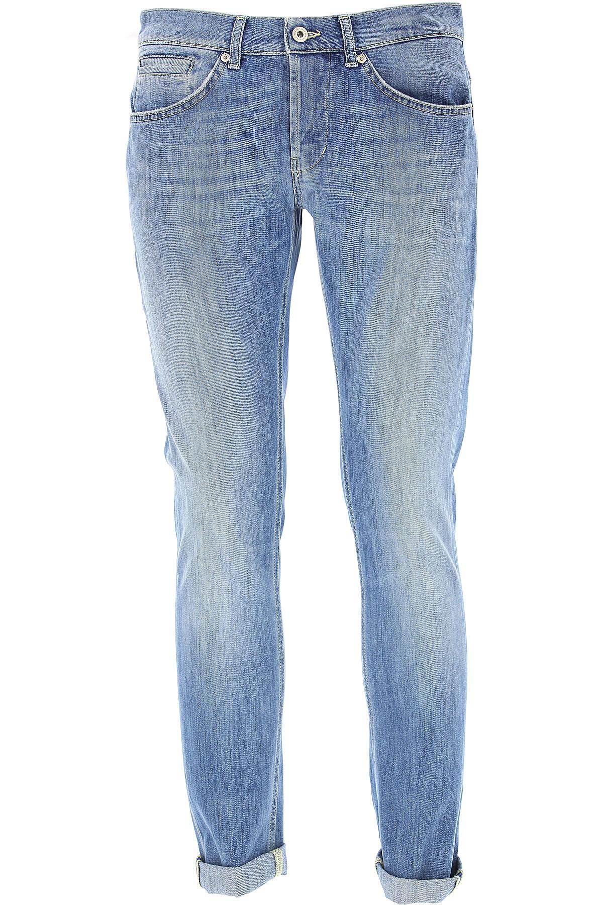 Dondup Jeans, Denim Blue, Cotton, 2017, 29 30 31 32 33 34 35 36