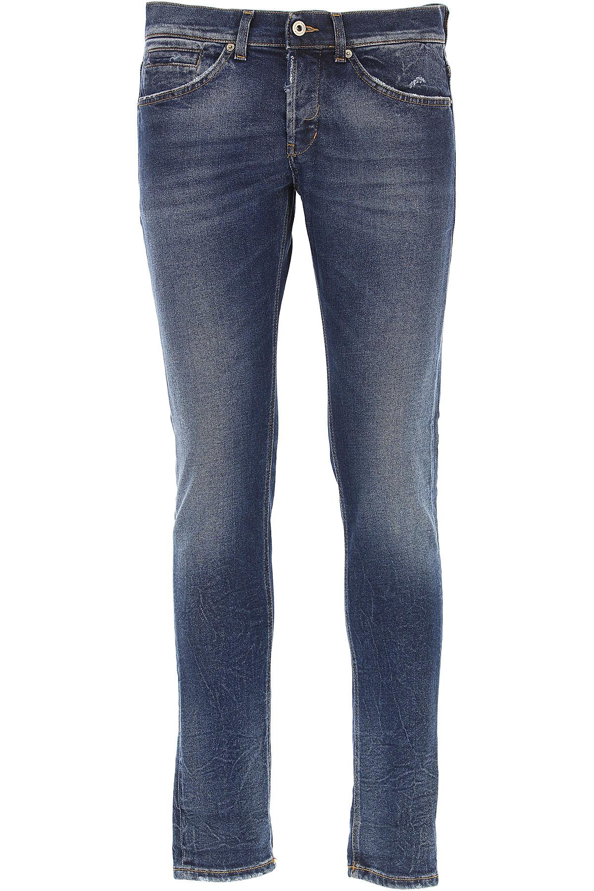 Dondup Jeans On Sale, Denim Blue, Cotton, 2017, 30 31 32 33 34 38