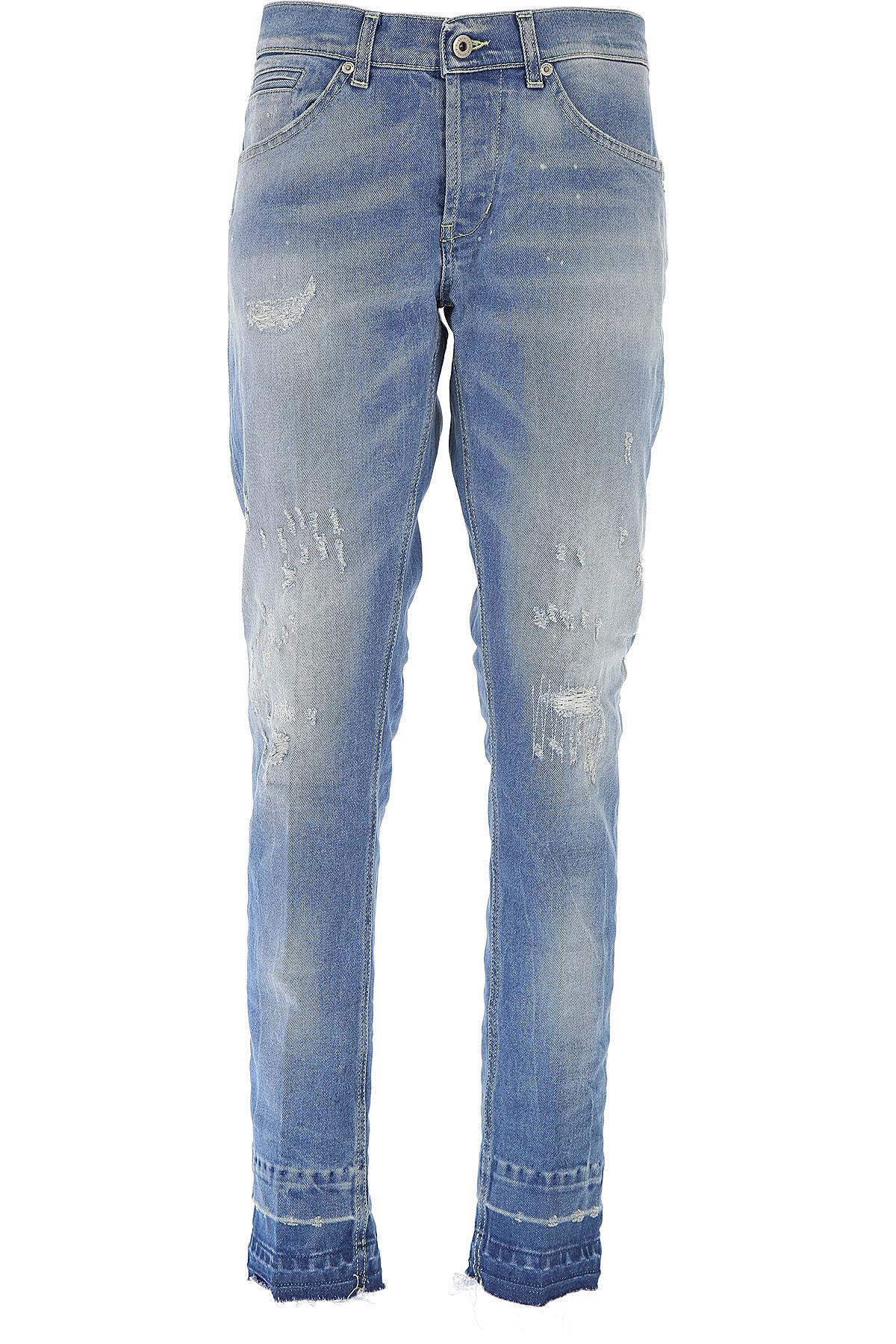 Dondup Jeans, Denim Blue, Cotton, 2017, 30 31 32 33 34 35 36