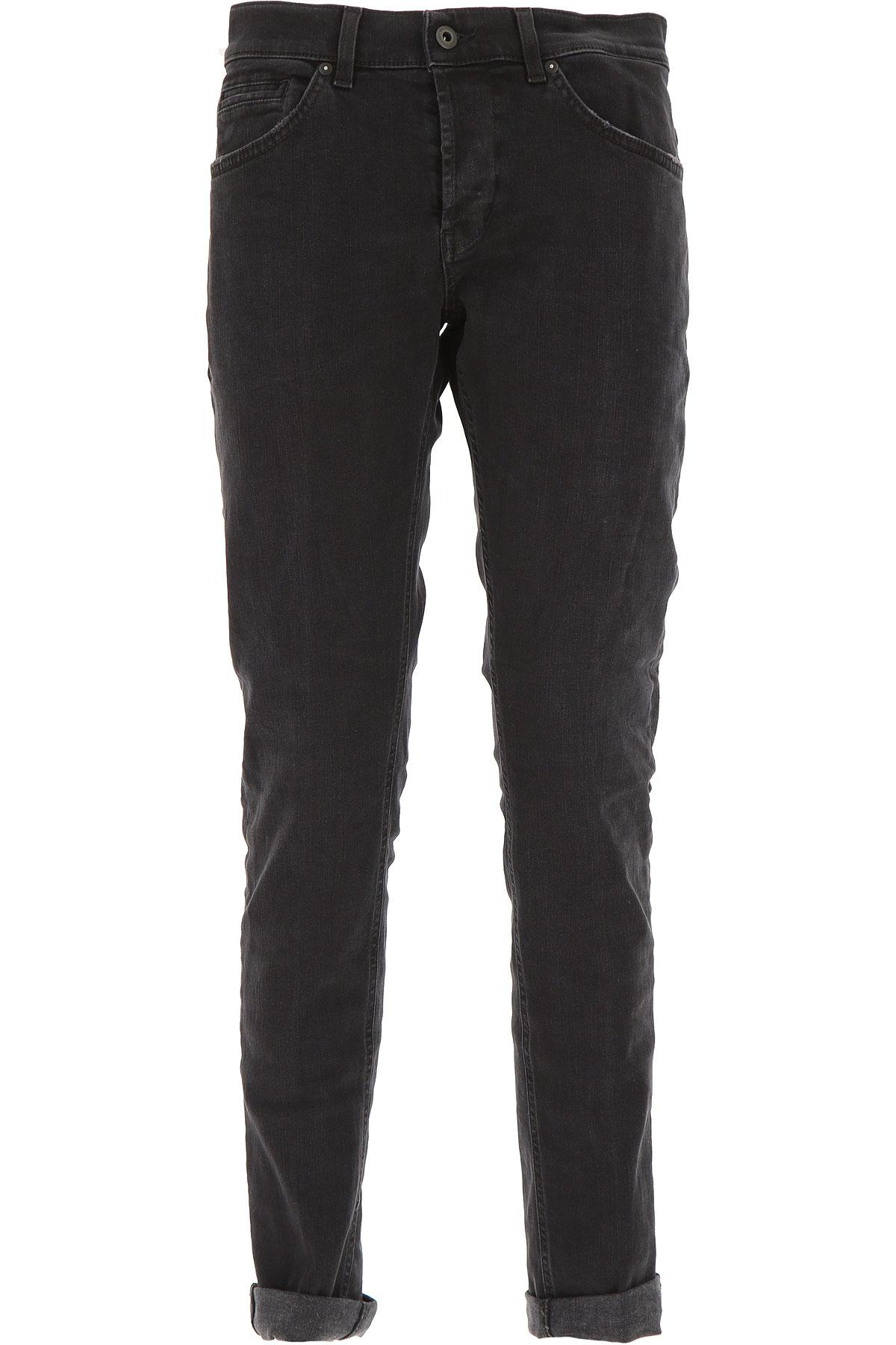 Dondup Jeans, Black, Cotton, 2017, 30 31 32 33 34 35 36