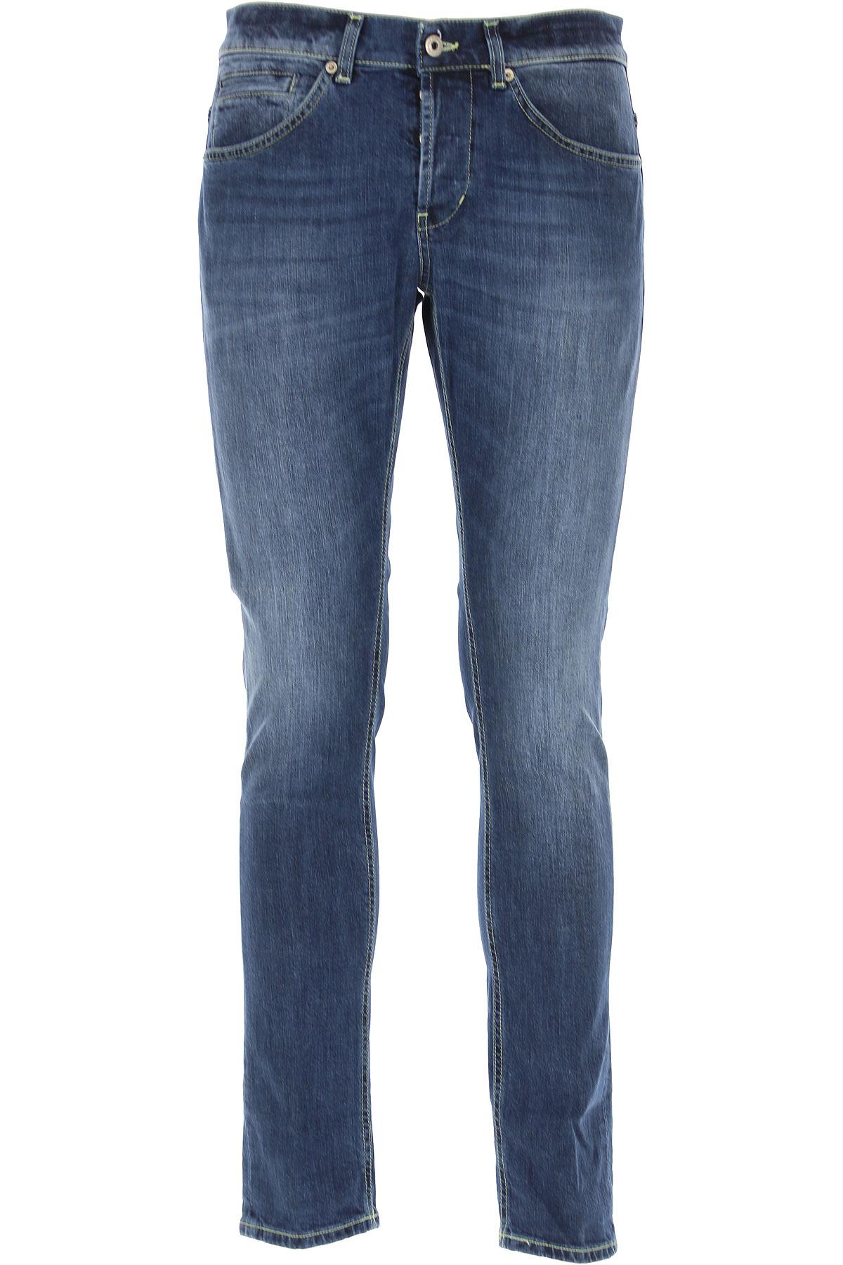Dondup Jeans, Denim Blue, Cotton, 2019, 29 31 38