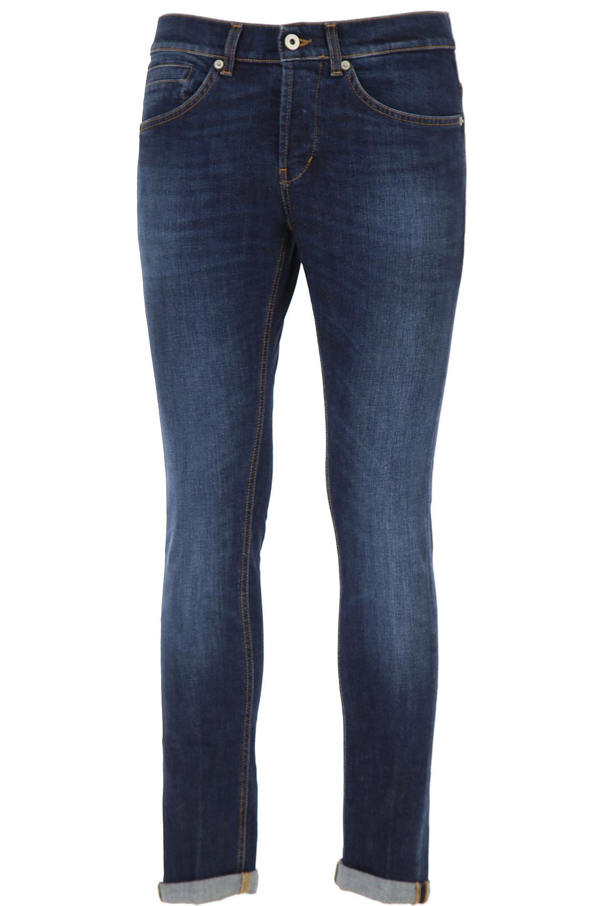 Dondup Jeans, Dark Blue Denim, Cotton, 2019, 35 36 38