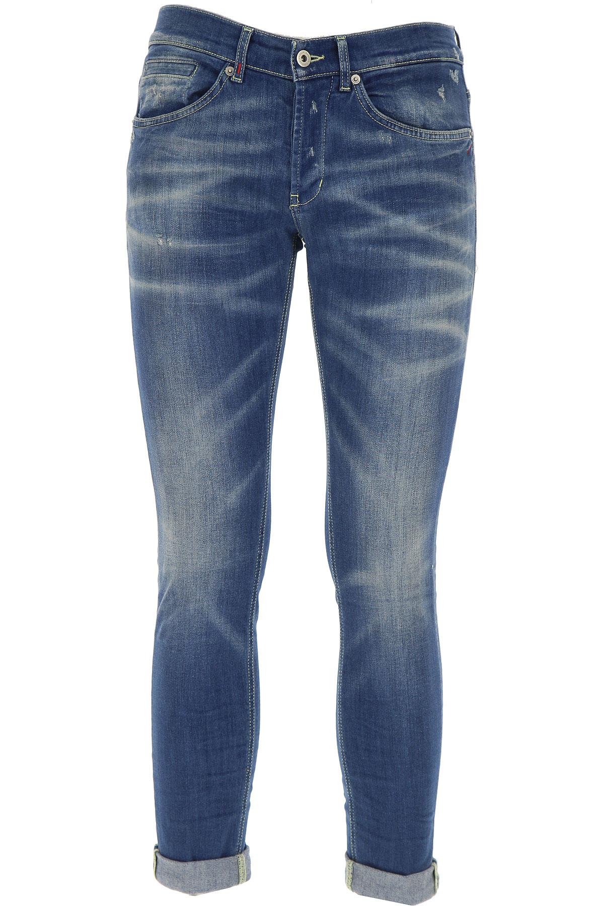 Dondup Jeans On Sale, Denim Blue, Cotton, 2017, 29 30 31 34 35 36
