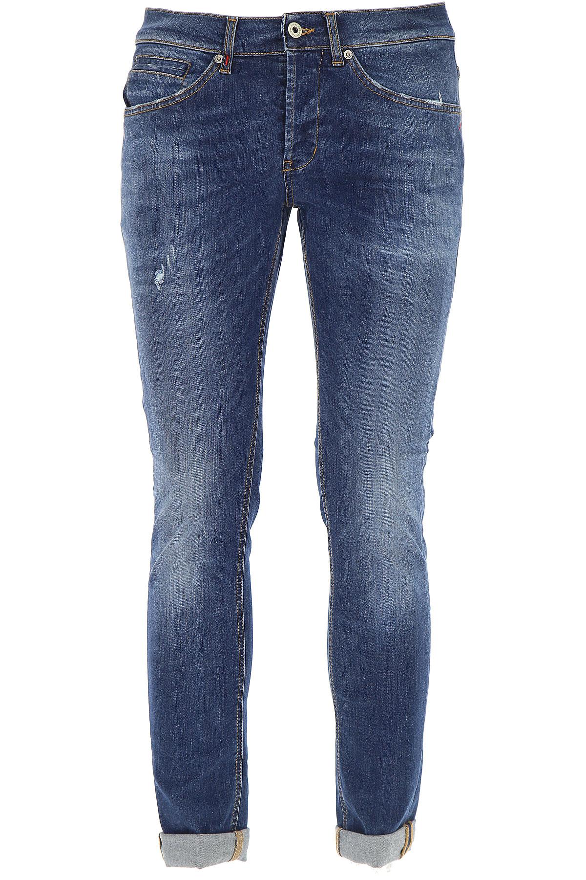 Dondup Jeans On Sale, Denim Blue, Cotton, 2017, 29 30 31 34 36