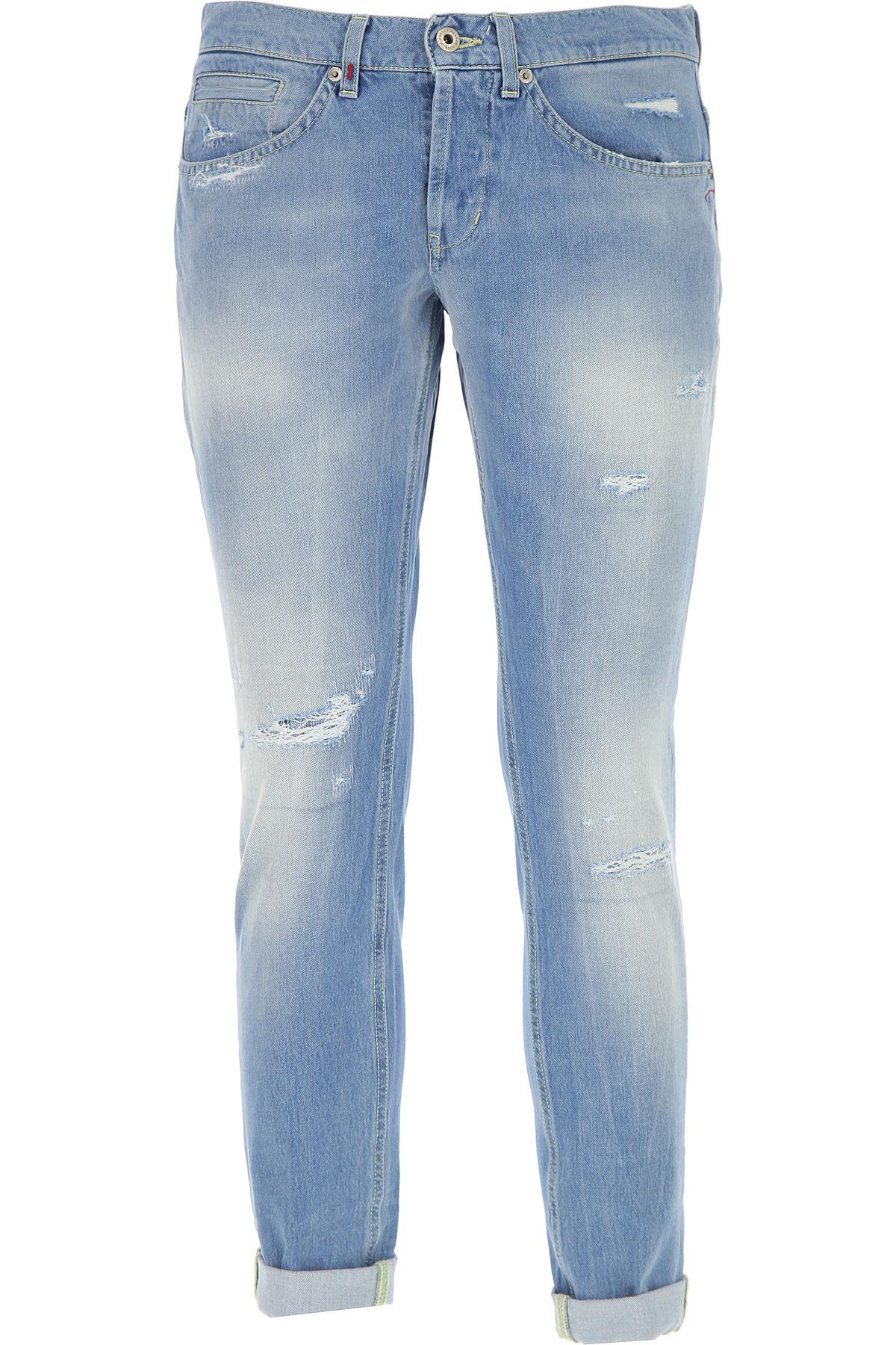 Dondup Jeans On Sale, Light Denim Blue, Cotton, 2017, 32 33 34