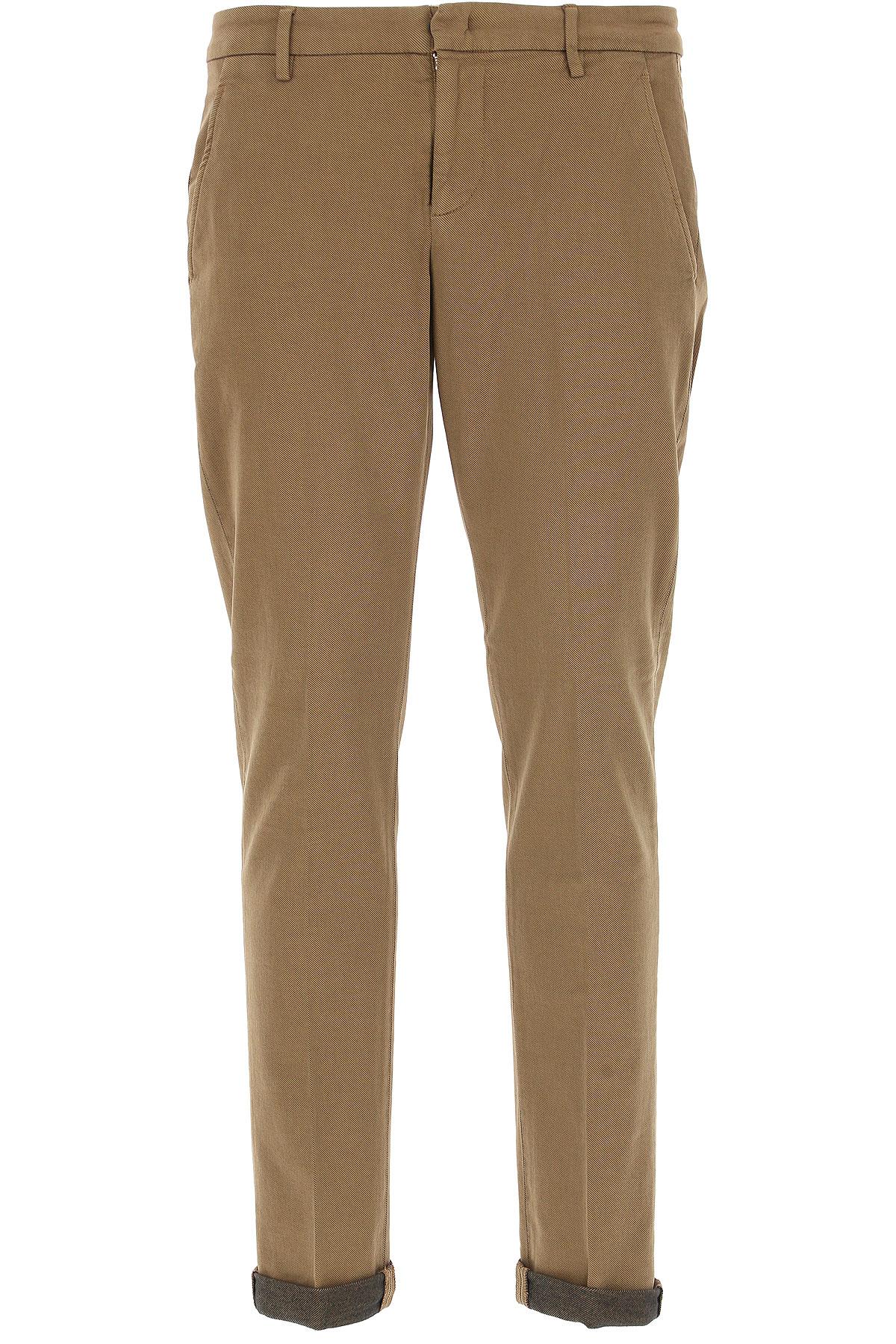 Dondup Pants for Men On Sale, Camel, Cotton, 2017, 30 31 32 33 34 35 36 38