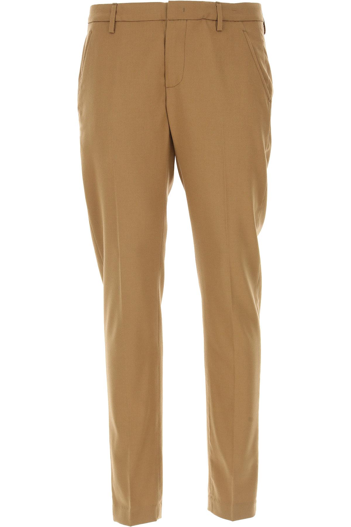 Dondup Pants for Men On Sale, Camel, Wool, 2017, 30 32 33 34 36