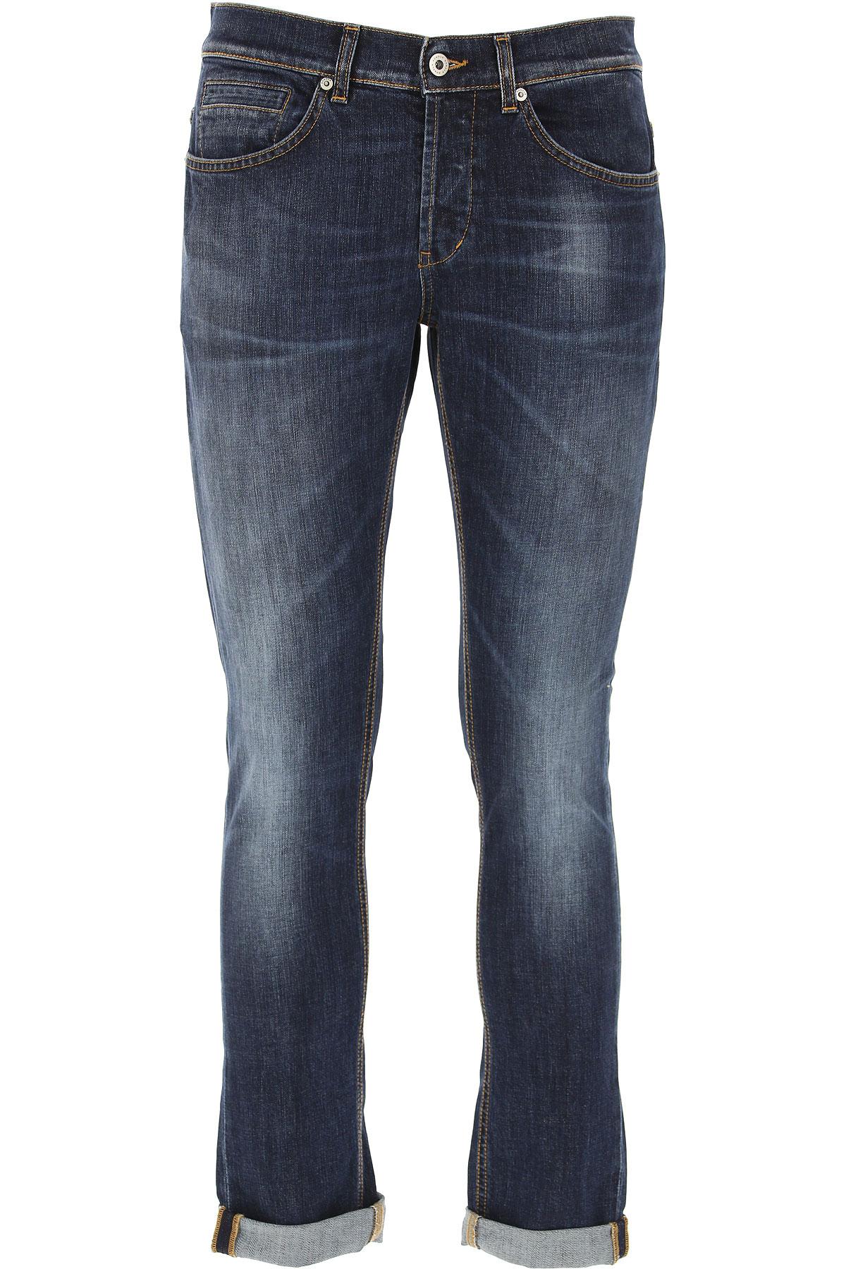 Dondup Jeans, Denim Blue, Cotton, 2019, 29 33