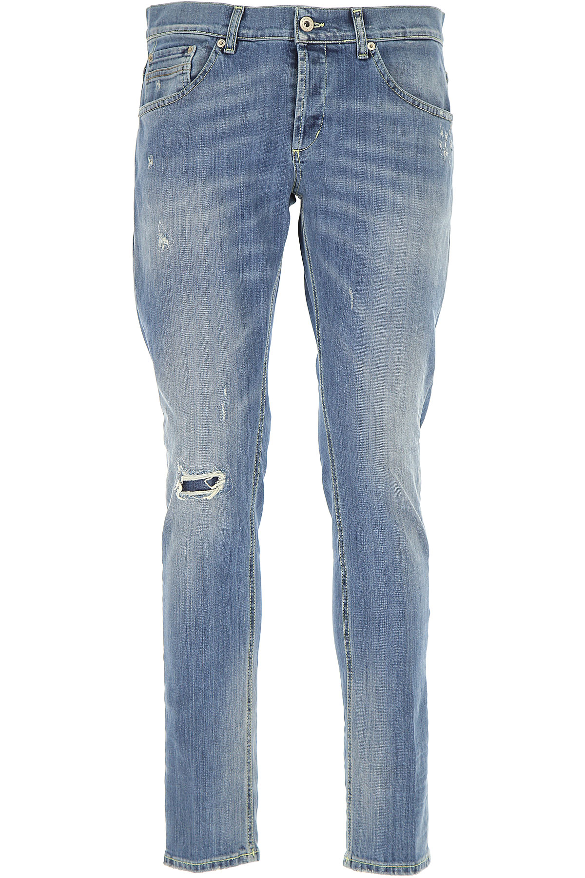 Dondup Jeans, Denim Blue, Cotton, 2017, 31 32 33 34 35 36
