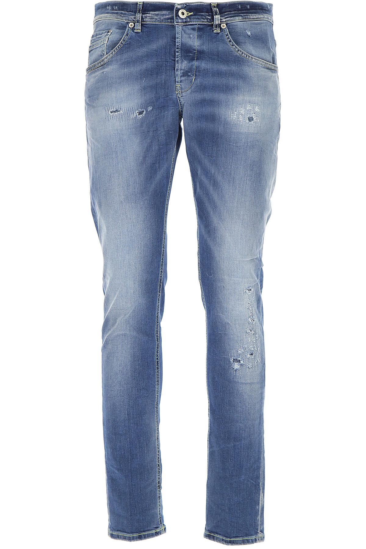 Dondup Jeans, Denim Blue, Cotton, 2017, 31 32 33 34 35