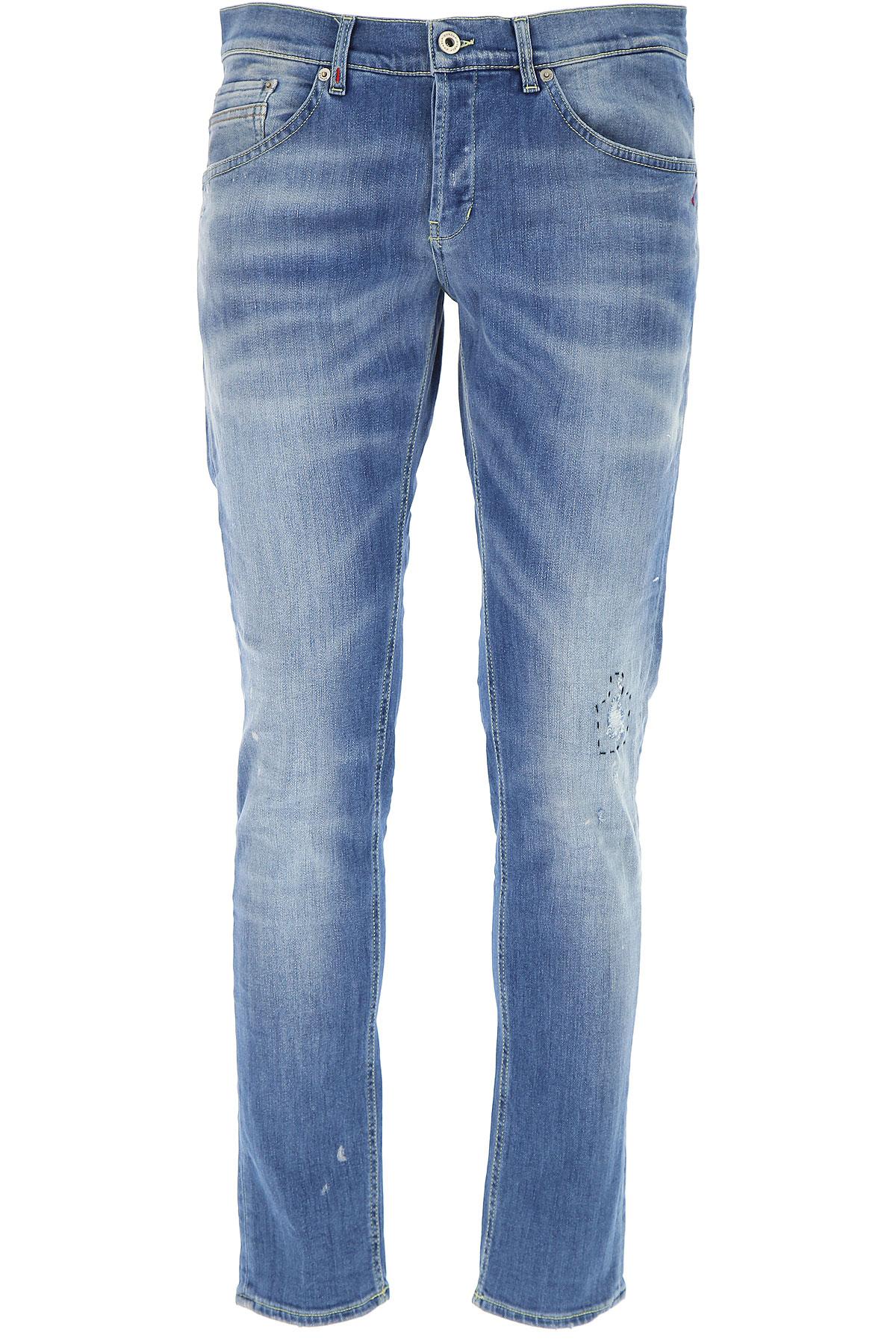 Dondup Jeans On Sale, Denim Blue, Cotton, 2017, 30 31 33 34 35 36 38