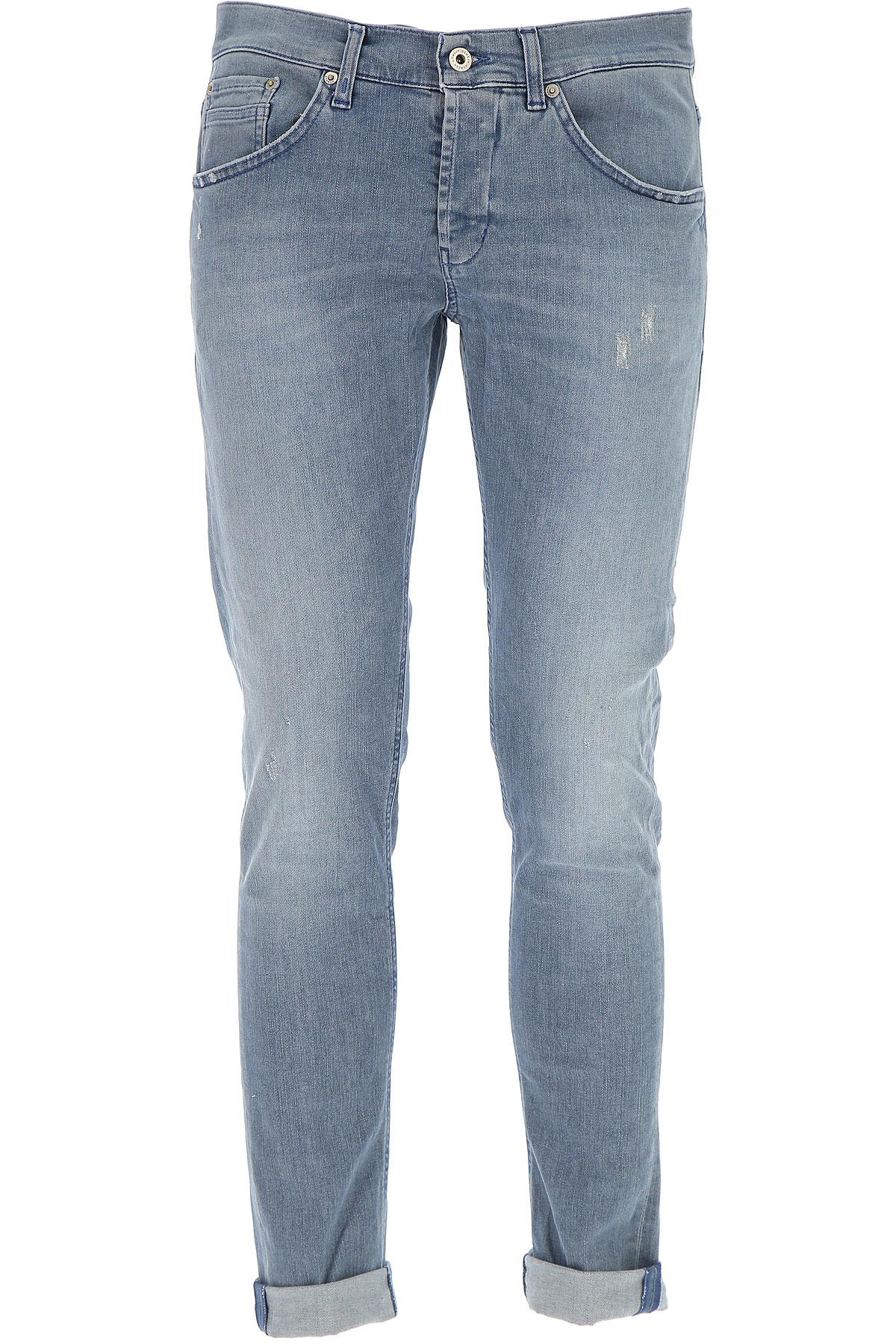 Dondup Jeans On Sale, Denim Blue, Cotton, 2017, 30 32 33 34 36 38